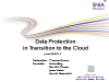 LIVE WEBCAST: Data Protection in Transition to the Cloud
