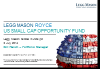 Legg Mason Royce US Small Cap Opportunity Fund