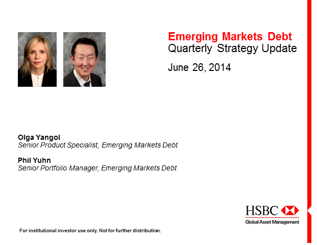 EMD Strategy Update North America