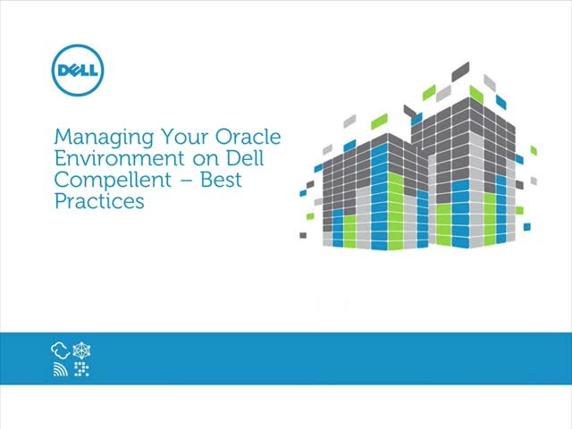 Exploring Dell Compellent and Oracle - Best Practices