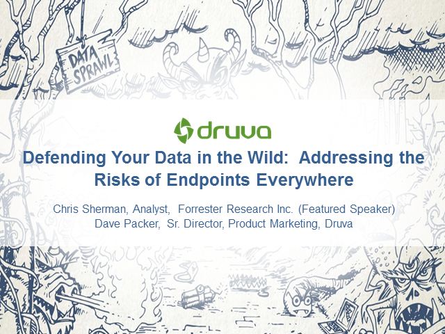 Defending Your Data in the Wild: Addressing the Risks of Endpoints Everywhere