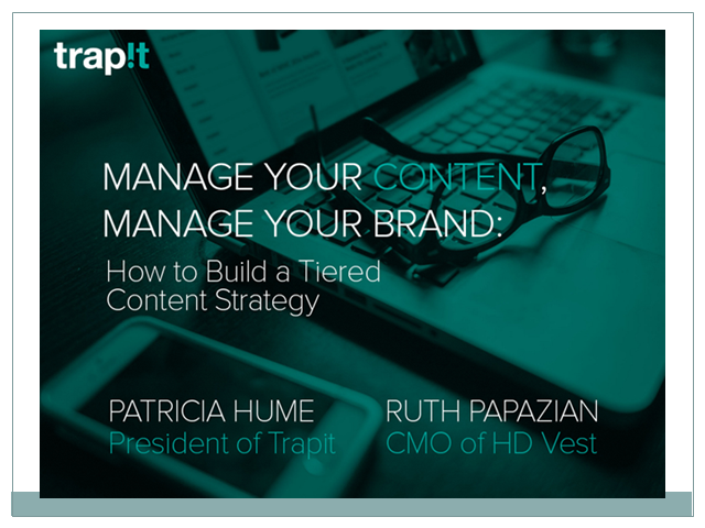 Manage Your Content, Manage Your Brand: How to Build a Tiered Content Strategy