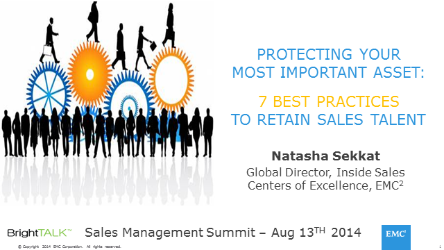 Protecting Your Most Important Asset: 7 Best Practices to Retain Sales Talent