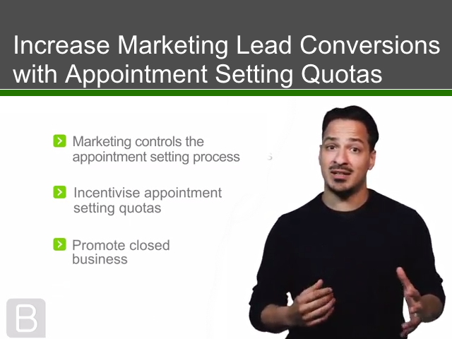 Increase Marketing Lead Conversions with Appointment Setting Quotas
