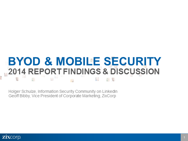 Expert Insights: BYOD & Mobile Security