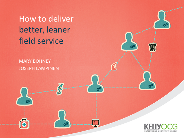 How to deliver better, leaner field service