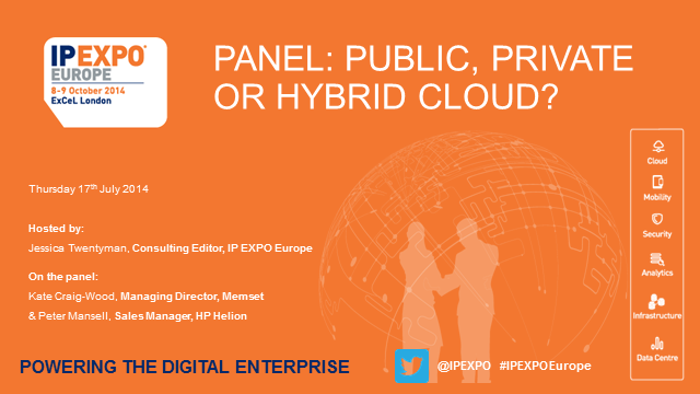 Panel: Public Private or Hybrid Cloud?