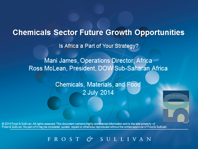 Chemicals Sector Future Growth Opportunities