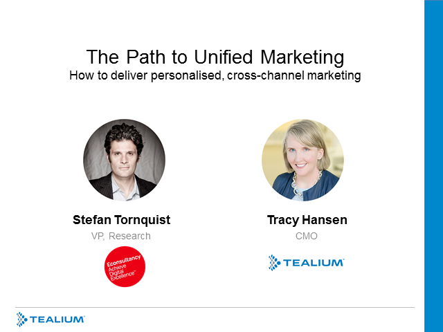 Path to Unified Marketing: How To Deliver Personalised Cross-Channel Marketing