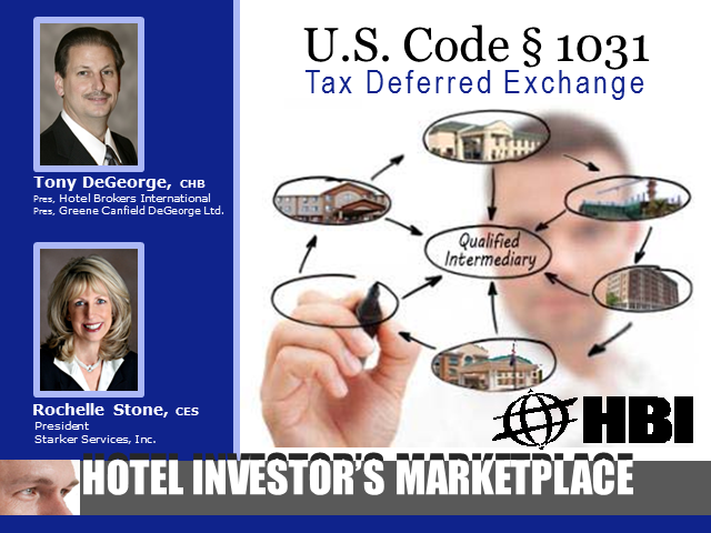 1031 Tax Deferred Exchange