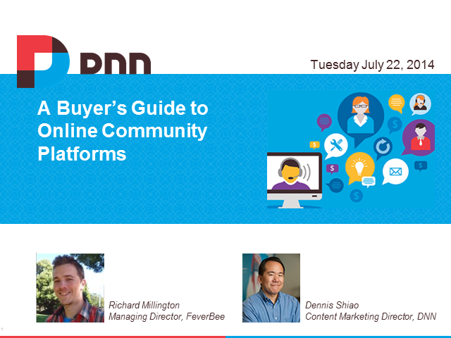 A Buyer's Guide to Online Community Platforms