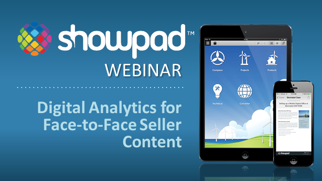 Digital Analytics For Your Field Sales Content