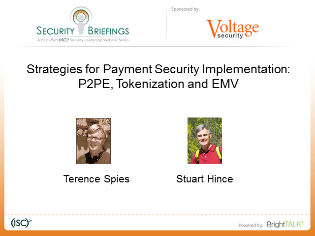 Strategies for Payment Security Implementation: P2PE, Tokenization and EMV
