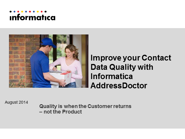 Increase Customer Retention & Productivity with Contact Data Verification