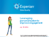 Leveraging personalization to improve engagement