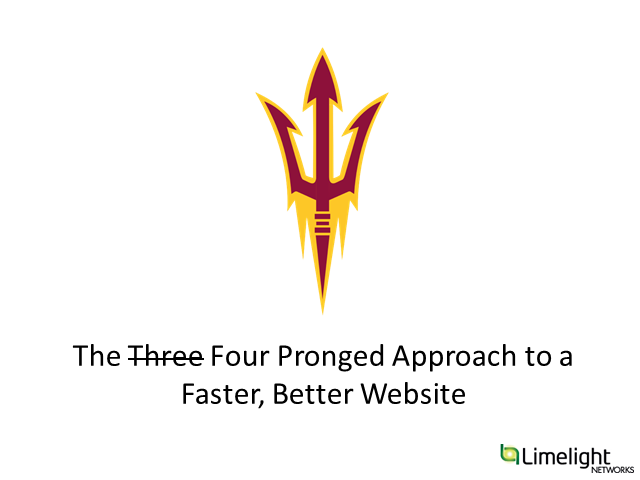 The Three-Pronged Approach to a Faster, Better Website