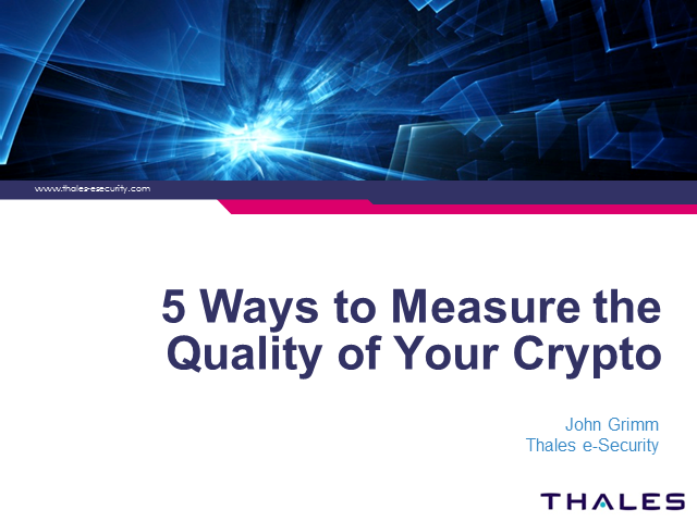 5 Ways to Measure the Quality of Your Crypto