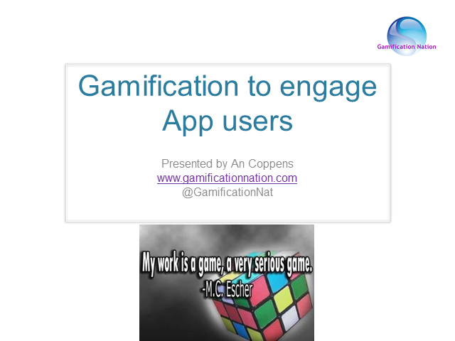 Gamification to Engage App Users