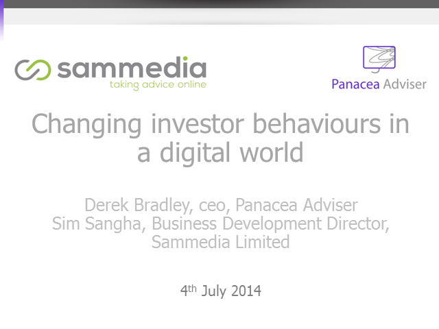 Changing investor behaviours in a digital world
