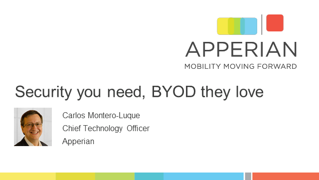 Mobile Security You Need with BYOD Your Employees Love