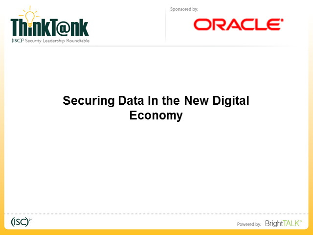 Securing Data in the New Digital Economy