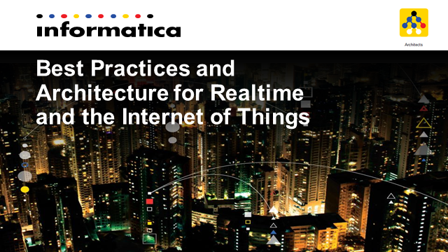 "Best Practices & Architecture for RT Streaming and the ""Internet of Things"""