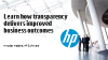 Learn how transparency delivers improved business outcomes