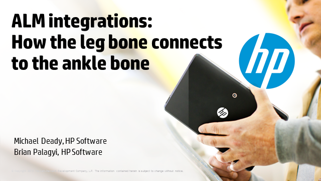 ALM integrations: How the leg bone connects to the ankle bone