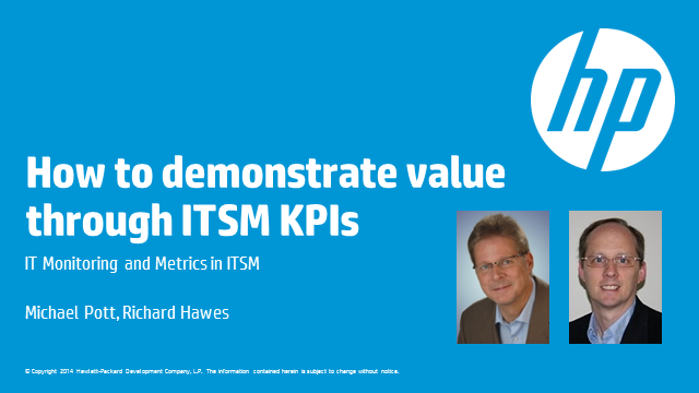 How to Demonstrate Value Through ITSM KPIs