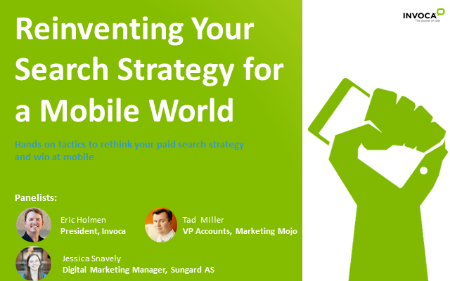 Reinventing your Search Marketing Strategy for a Mobile World