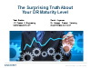 The Surprising Truth About Your DR Maturity Level