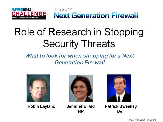 Role of Research in Stopping Security Threats