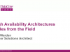 Best Practices for Creating Highly Available Architectures