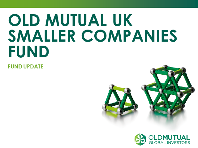Old Mutual UK Smaller Companies Fund Live Webcast with Dan Nickols