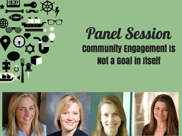 Panel Session: Community Engagement Is Not a Goal in Itself