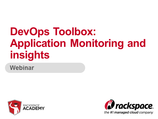 DevOps Toolbox:  Application monitoring and insights