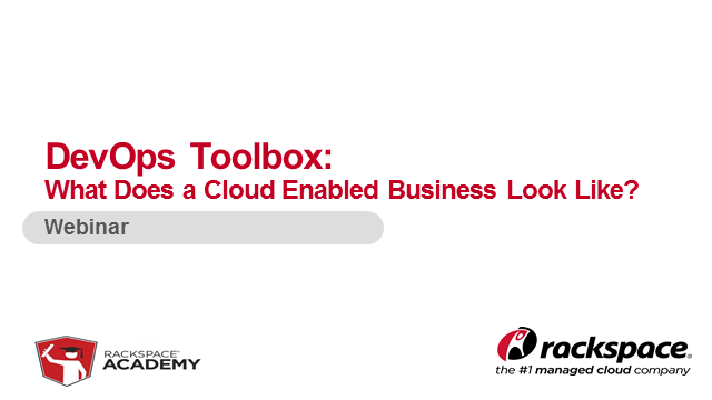 What does a cloud-enabled business look like?