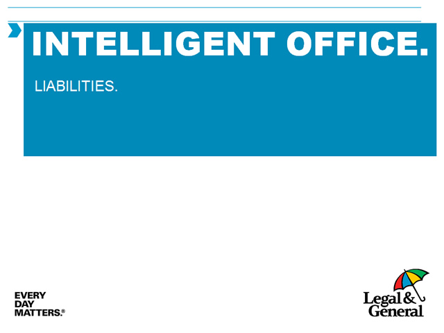 Intelligent office - User guide - Liabilities