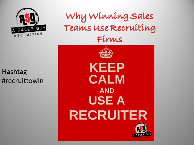 Why Winning Sales Teams Use Recruiting Firms