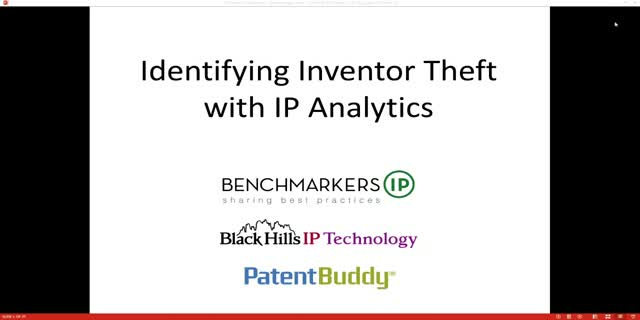 Identifying Inventor Theft with IP Analytics