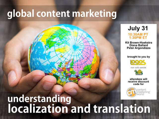 Intro to Global Content Marketing: Understanding Localization & Translation
