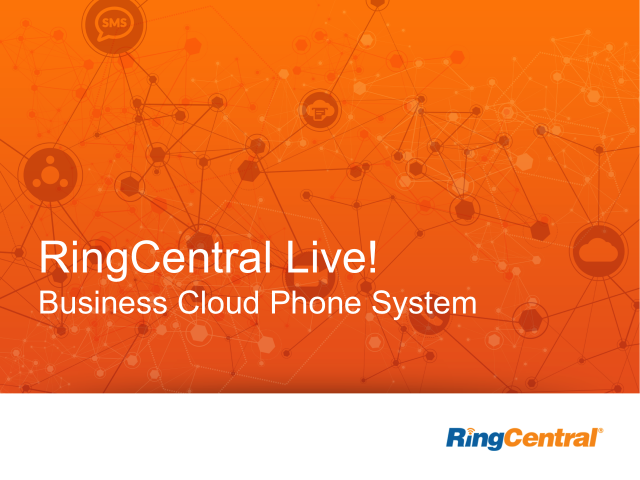 RingCentral Live - 7/11/2014 – RingCentral Mobile App
