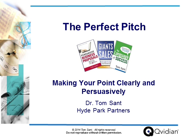 Delivering the Perfect Pitch