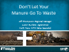 Don't Let Your Manure Go To Waste