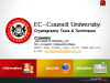 Application of Cryptography for Enterprise Security