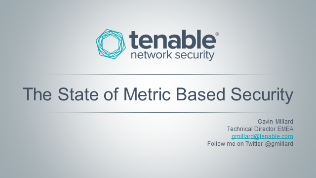 The State of Metric Based Security