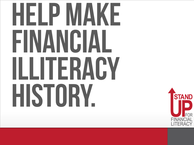 Stand Up For Financial Literacy