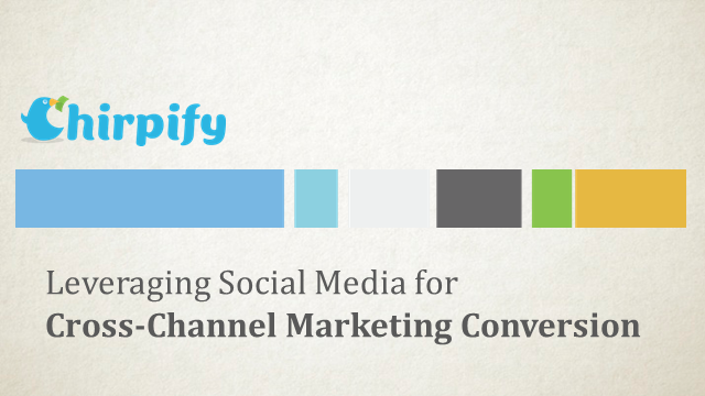 Leveraging Social Media for Cross-Channel Marketing Conversion