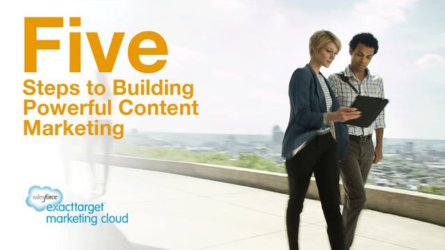 5 Steps to Building Powerful Content Marketing
