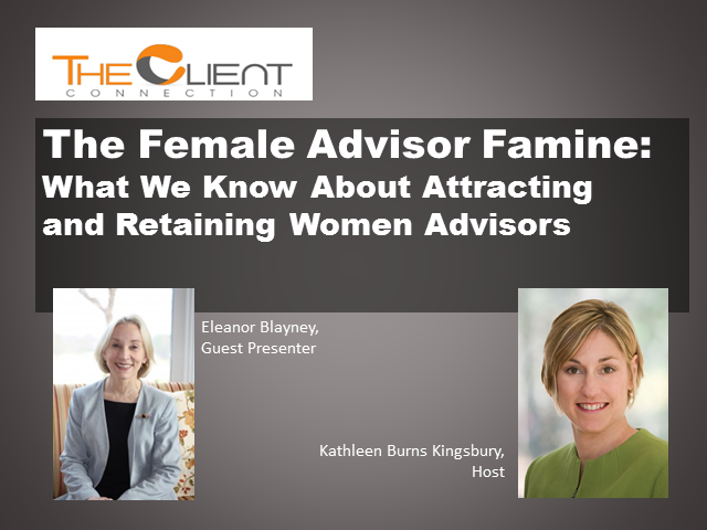 The Female Advisor Famine